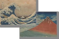 浮世絵の複製画